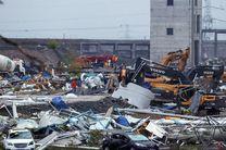 توفان و گردباد در چین هفت کشته برجای گذاشت
