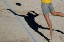 اعزام تیم ملی والیبال ساحلی ایران به دوحه