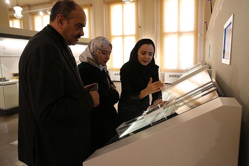 بازدید مقامات ارشد الجزایر از نمایشگاه ملی شو 2 بانک ملی ایران