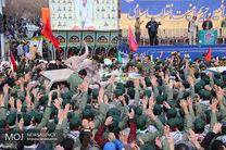 تشییع پیکر شهدای حادثه تروریستی سیستان در اصفهان