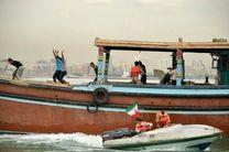 توقیف شناور صیادی حامل کالای قاچاق در ابوموسی