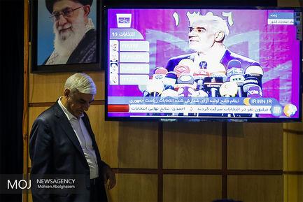 اعلام نتایج اولیه دوازدهمین انتخابات ریاست جمهوری