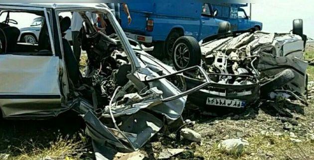 سه کشته و سه زخمی در تصادف مرگبار جاده آق قلا به انبارالوم