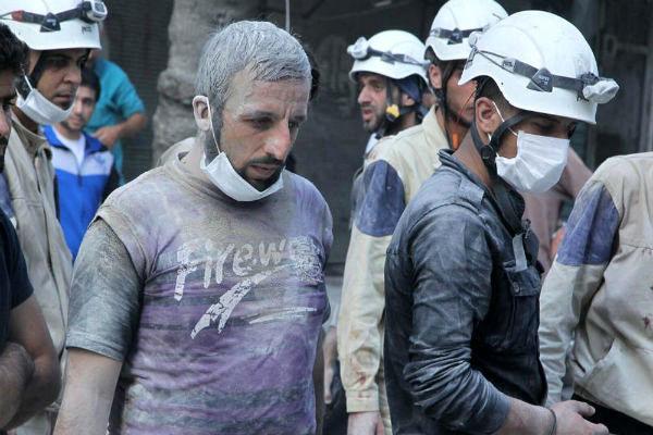 کلاه سفید ها در جنگ سوریه کریهترین اقدامات را انجام دادند