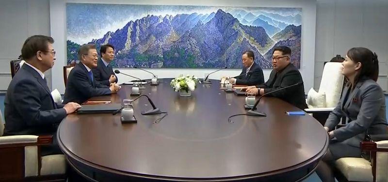 آغاز دیدار تاریخی سران دو کره شمالی و جنوبی با هدف ایجاد صلح پایدار در منطقه
