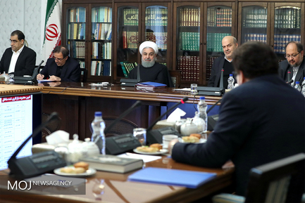 جلسه شورای عالی محیط زیست با حضور رییس جمهوری