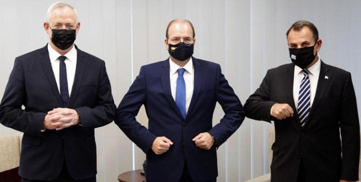 توافق سه جانبه رژیم صهیونیستی، یونان و قبرس بر سر توسعه همکاریهای نظامی