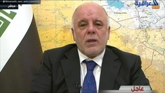 العبادی: پیروزی بسیار نزدیک است/ حشد شعبی بعد از پیروزی به بازسازی کشور بپردازد