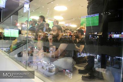 تماشای بازی پرسپولیس و السد قطر در پردیس چارسو