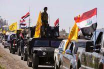 درگیری شدید حشد شعبی با داعش در الانبار