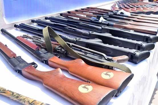 76 نفر از دارندگان سلاح غیرمجاز در خوزستان دستگیر شدند