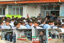 حضور ریاست شورای اسلامی شهر در هنرستان شهید چمران رشت