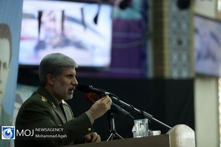 بازدید وزیر دفاع از دانشگاه افسری امام علی (ع) ارتش
