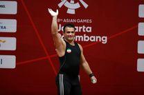 سهراب مرادی قدرت خود را به رخ حریفان کشید/ سهراب مرادی رکورد جهان و بازیهای آسیایی را در یک ضرب شکست
