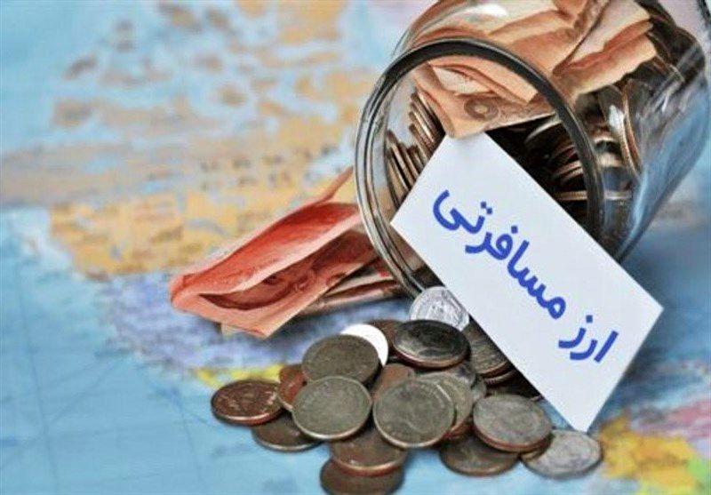 قیمت فروش ارز مسافرتی در 28 بهمن 97 اعلام شد