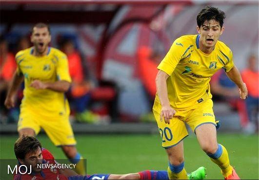آزمون در اولین ترکیب تاریخی لیگ قهرمانان روستوف + عکس