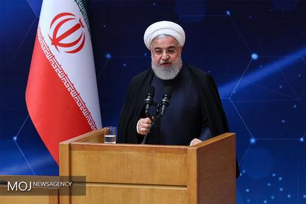 روز ملی فناوری هستهای با حضور رییس جمهوری/حسن روحانی رییس جمهوری