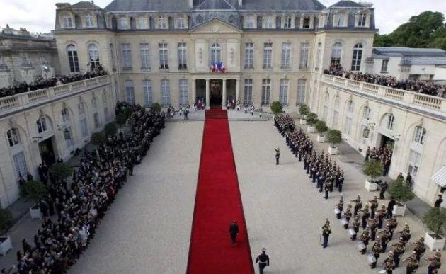 مراسم تحلیف ریاست جمهوری فرانسه