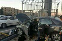 تصادف مرگبار در اتوبان تهران کرج / ۲ نفر کشته شدند