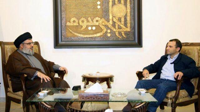 جزئیات دیدار سید حسن نصرالله و وزیر خارجه لبنان