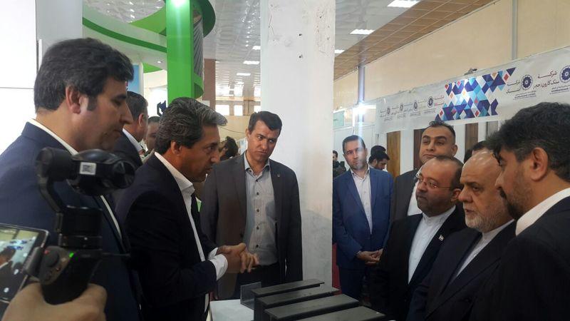 ذوب آهن اصفهان در نمایشگاه تخصصی صنعت ساختمان بغداد حضوری فعال دارد