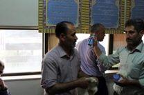 در آستانه ماه مبارک رمضان نمازخانه ساختمان ناحیه3 غبارروبی شد