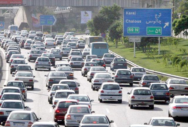 آخرین وضعیت ترافیکی کشور/  بارش باران و برف در  استانهای شمالی و غربی کشور
