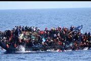 واژگونی قایق حامل پناهندگان در آبهای جزیره لسبوس