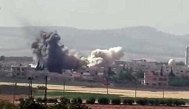سه انفجار شدید در تلعفر و اعلام آمادهباش داعش