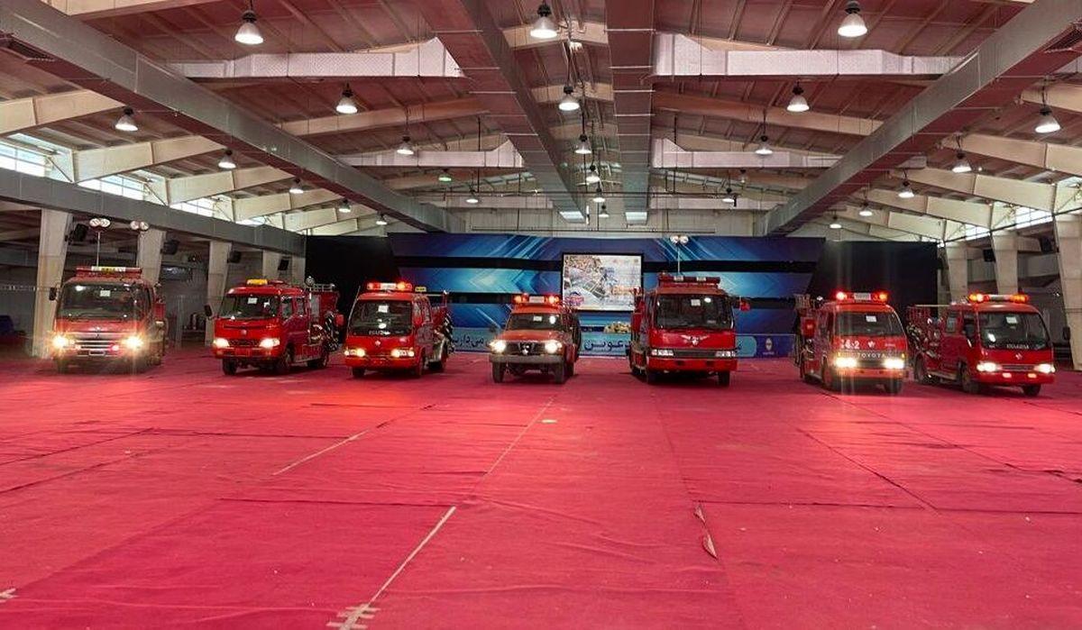 افزودن هفت خودرو به ناوگان آتش نشانی قشم