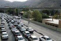 آخرین وضعیت ترافیکی جاده های کشور/ مه گرفتگی در مازندران