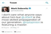 مارک دوبوویتز: ظریف حرفهای ترین مبلغ نسل ما است