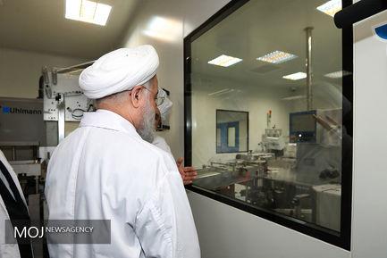 افتتاح خط تولید جامدات داروسازی تهران شیمی