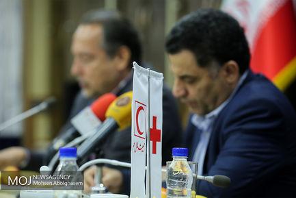 امضای تفاهم نامه میان جمعیت هلال احمر و سازمان انتقال خون