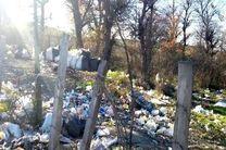 بهترین نقاط مازندران تبدیل به محل دفن زباله شده است