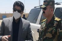 بیش از 443 هزار تن کالا از مرز مهران به عراق صادر شد