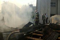 آتش سوزی گسترده خانه ویلایی در رشت