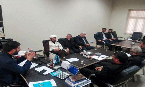 جلسه هماهنگی استقبال از زائرین خارجی اربعین حسینی در امامزادگان آستارا برگزار شد
