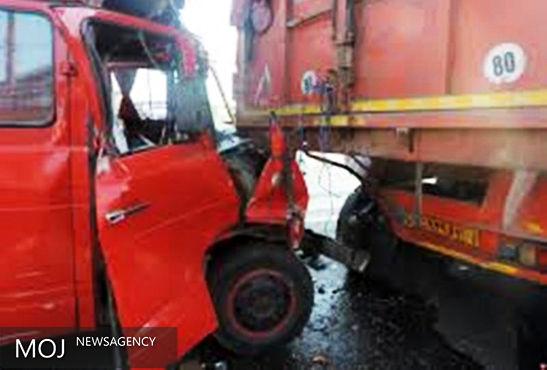2 کشته و 18 زخمی در تصادف محور خرمآباد - پلدختر