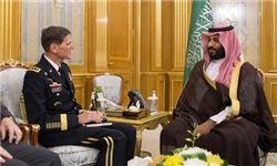 مقام ارشد نظامی آمریکا از مرز یمن دیدن کرد