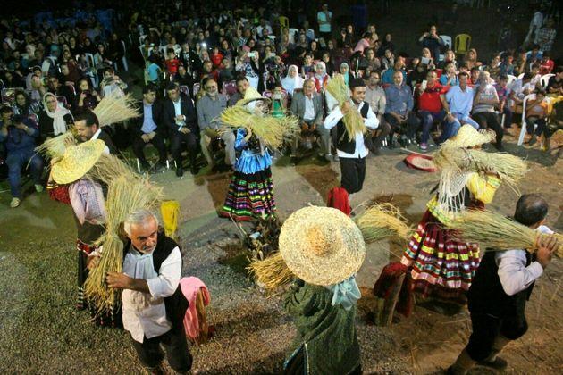 اختتامیه سومین جشنواره سبزجوکول منطقه آزادانزلی برگزار شد