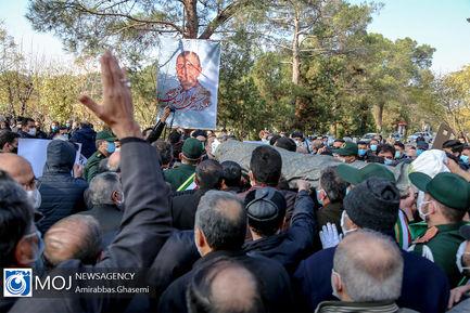 تشییع پیکر مرحوم جانباز علی اصغر زارعی