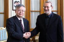 دیدار لاریجانی با سفیر چین در تهران