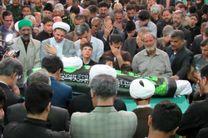 پیکر امام جمعه مهریز تشییع و خاکسپاری شد