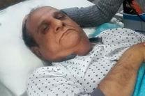 صید جعفر فلاحی «هنرمند باسابقه لرستانی» به دلیل عارضه قلبی در بیمارستان بستری شد