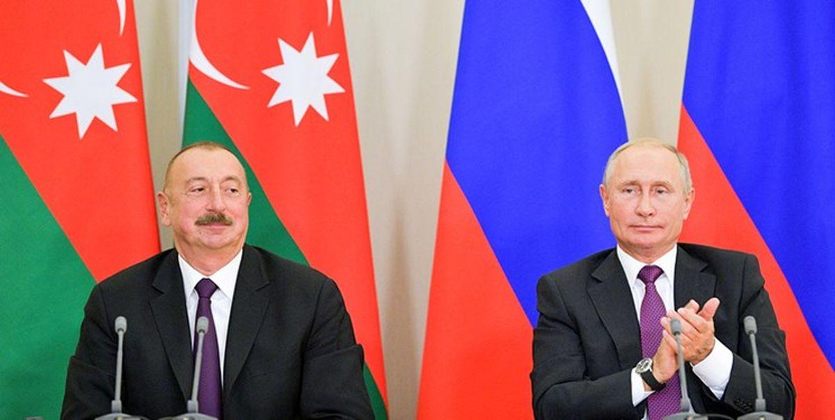 دیدار روسای جمهور آذربایجان و روسیه در مسکو