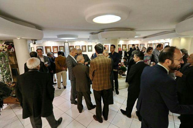 نمایشگاه آثار هنرمند گیلانی در نگارخانه آتشزاد تهران برپا شد