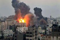 حمله هوایی صهیونیست ها به شمال غزه