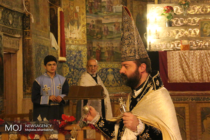 مراسم میلاد حضرت مسیح (ع) درکلیسای بیت اللحم اصفهان