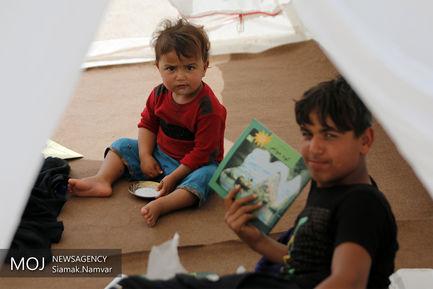 کمپ های موقت سیل زدگان خوزستان
